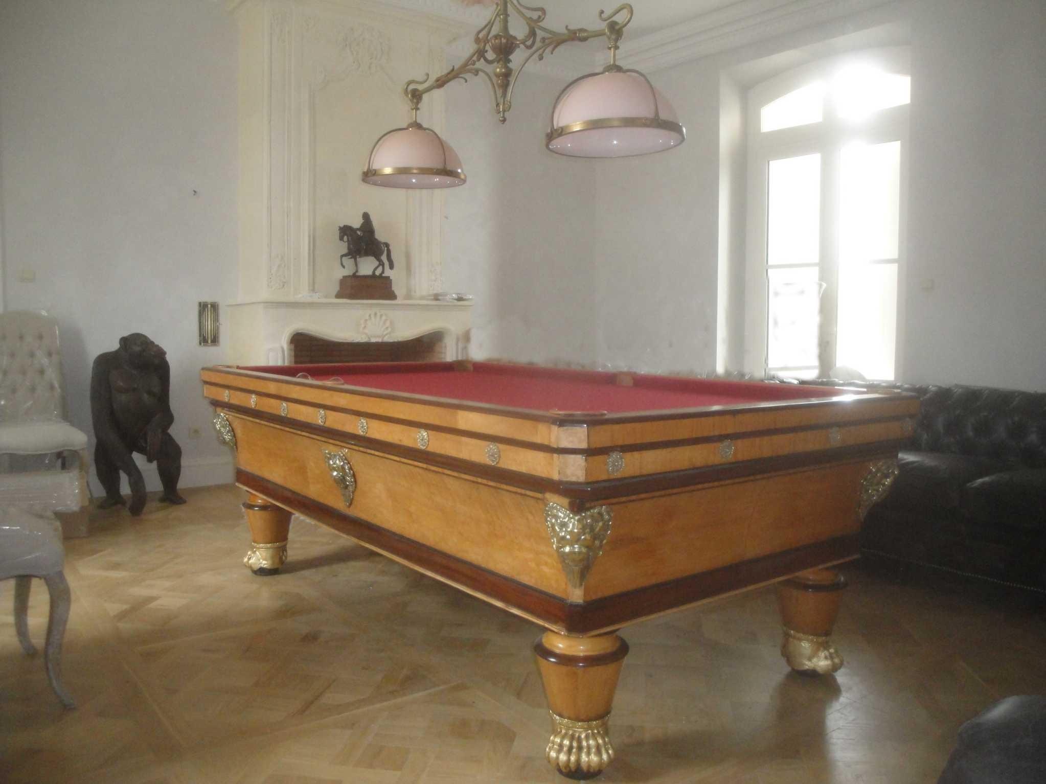 billard ancien. Black Bedroom Furniture Sets. Home Design Ideas